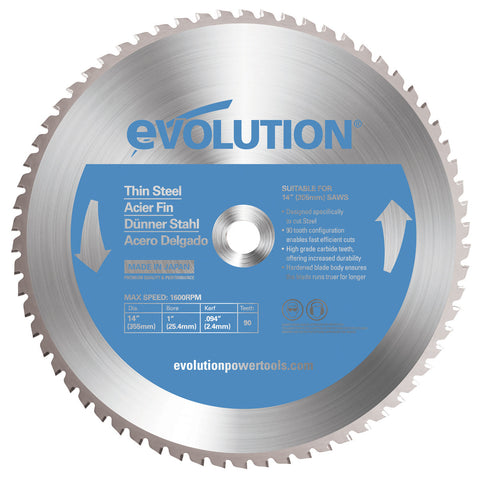 "Evolution 14BLADETS 14"" Saw Blade"