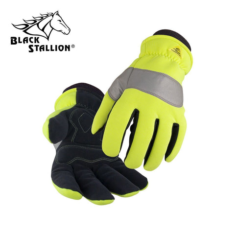 Revco 15HV SPANDEX AND SYNTHETIC LEATHER INSULATED MECHANIC'S STYLE GLOVES