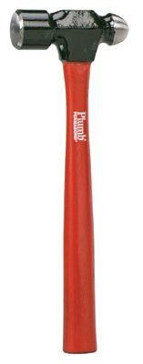 Plumb 11521 Ball Pein Hammer, 32 oz Forged Steel Head, Straight Hickory Handle, 15 in (1 EA)