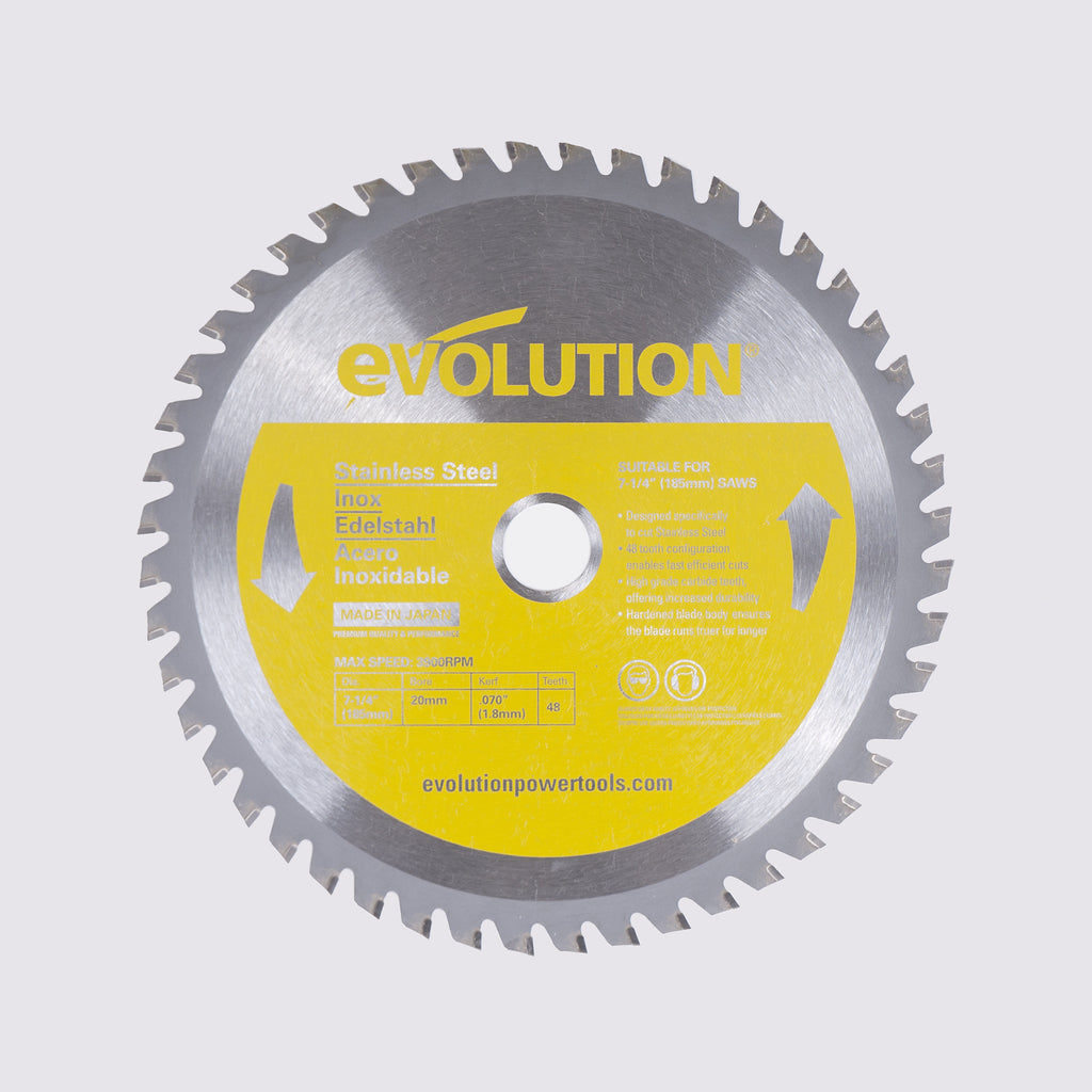 "Evolution 185BLADESS 7 1/4"" Saw Blade"
