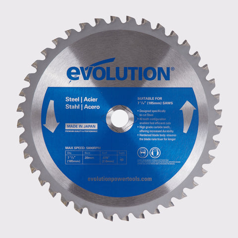 "Evolution 185BLADEST 7 1/4"" Saw Blade"