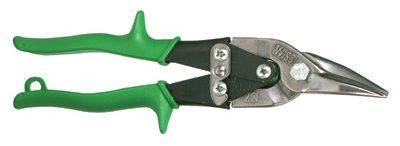 Wiss M2R Metalmaster Snips, Straight Handle, Cuts Right and Straight 1 EA