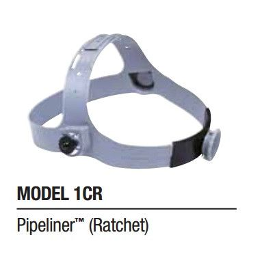 Fibre Metal 1CR Ratchet Headgear for Pipeliner Welding Helmet (110P)