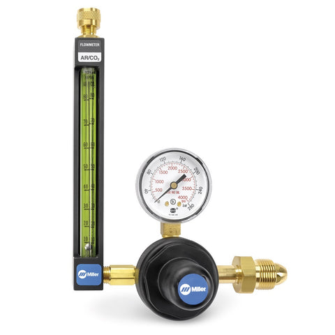 Miller 31-50-580-6 Flowgauge Regulator-Inert Gas with 6' Hose
