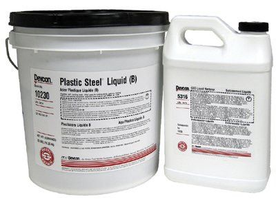 devcon-10230-plastic-steel-liquid-(b),-25-lb,-dark-grey