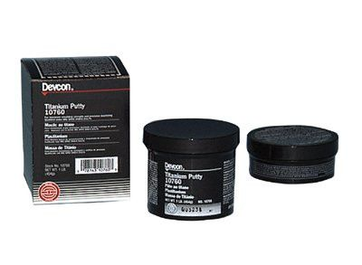 Devcon 10760 Titanium Putty - 1 lb Can (1 Can)
