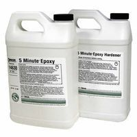 devcon-14630-5-minute-epoxy,-1-gal,-9-lb,-dev-pak,-light-amber