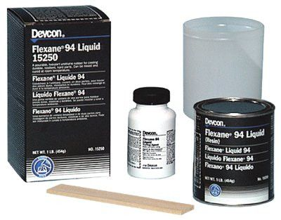 Devcon 15250 1 lb of Black Flexane 94 Liquid (1 lb)