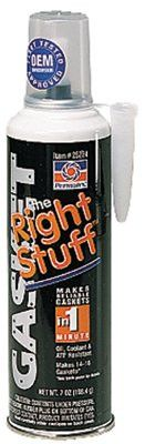 Permatex 25224 the Right Stuff Gasket Maker, 7 oz Automatic Tube, Black