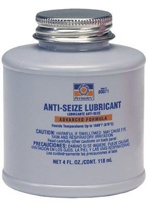 Permatex 80071 Anti-Seize Lubricants, 4 oz Brush Top Bottle (1 Bottle)