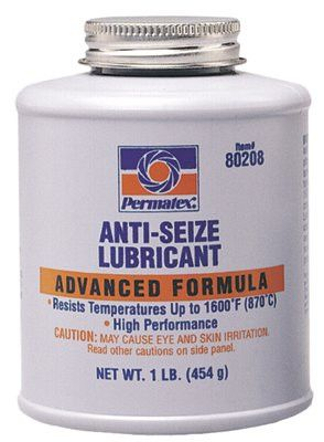 Permatex 80208 Anti-Seize Lubricants, 16 oz Brush Top Bottle (1 Bottle)