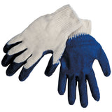 Revco 2300EE Large Economy Latex-Coated Cotton/Poly Knit Glove (12 Pairs)