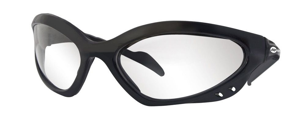 Miller 238979 Black Frame Clear Safety Glasses