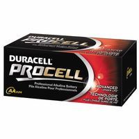 Duracell PC1500BKD Duracell Procell Batteries, Non-Rechargeable Alkaline, 1.5 V, AA, 24 per pack (1 Pack)