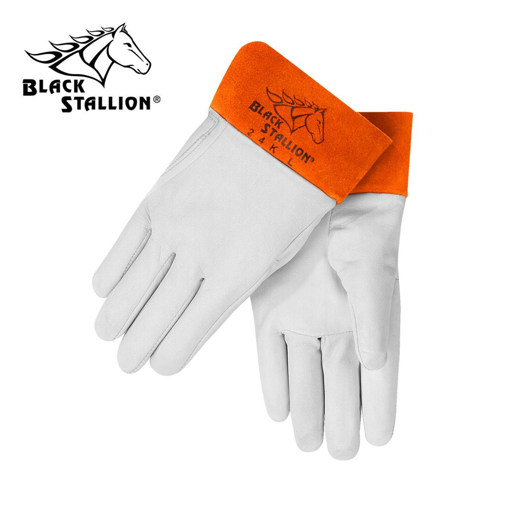 Revco 24K Black Stallion® Kidskin TIG Welding Gloves