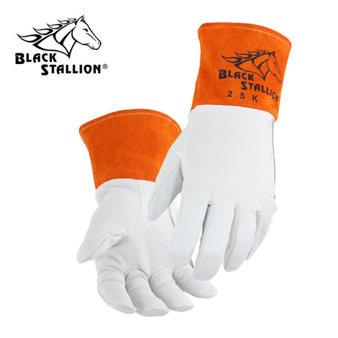 Revco 25K Black Stallion® Kidskin TIG Welding Gloves