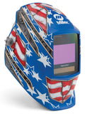 Miller 264852 Stars and Stripes Digital Elite Welding Helmet left