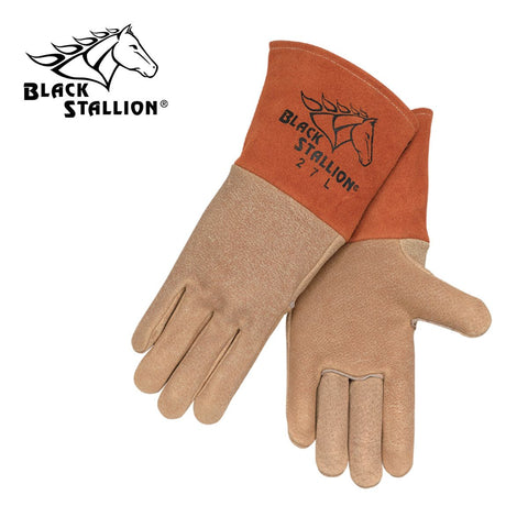 Revco 27 Black Stallion® Pigskin Mig Welding Gloves