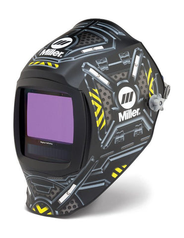 Miller 280047 Black Ops Digital Infinity ClearLight Lens Welding Helmet