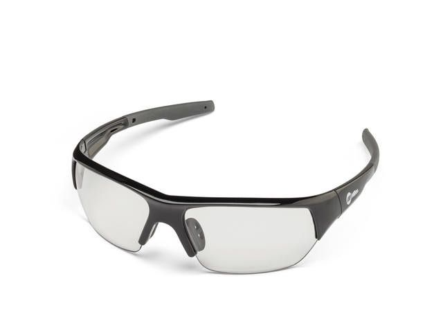 Miller 272191 Spatter Black Frame Clear Safety Glasses Left Side