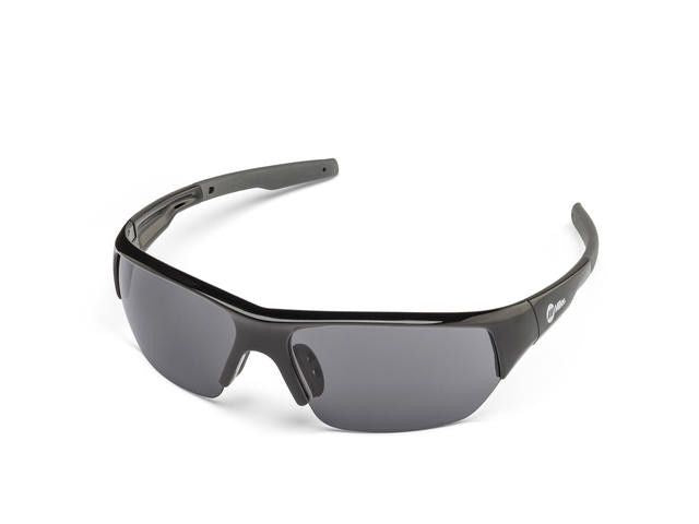 Miller 272195 Spatter Black Frame Smoke Safety Glasses Left Side
