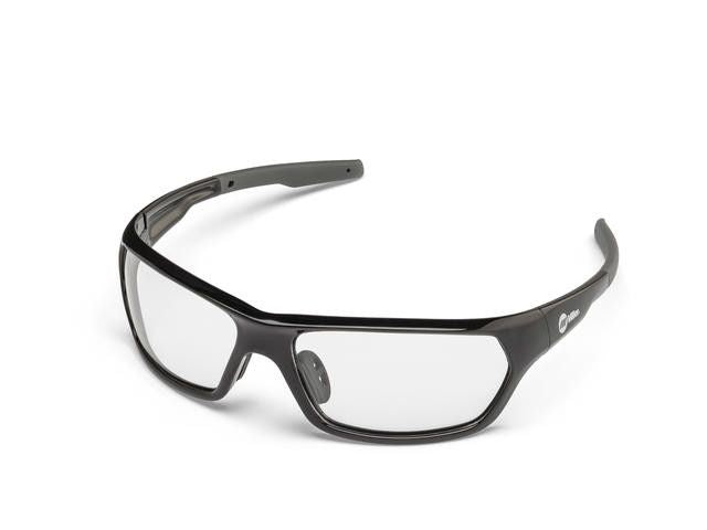 Miller 272201 Slag Black Frame Clear Safety Glasses Left Side