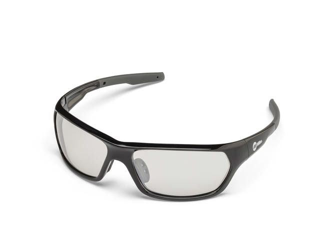 Miller 272202 Slag Black Frame Indoor/Outdoor Safety Glasses Left Side