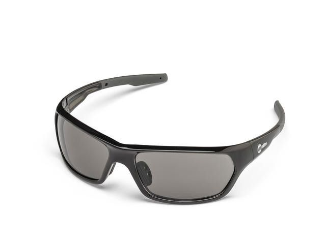 Miller 272203 Slag Black Frame Smoke Safety Glasses Left Side