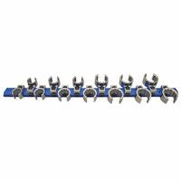"Martin Tools BC13KM 13 Piece Crowfoot Wrench Set, Metric, 3/8"" Drive, 15 mm-27 mm (1 EA)"