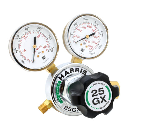 Harris 3000606 25GX-500-580 Single-Stage HVAC Purging Regulator (1 Regulator)