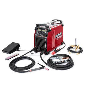 Lincoln K4341-1 Aspect 230 AC/DC Air Cooled TIG Welder One-Pak
