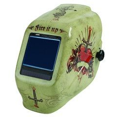 Jackson 46160 Truesight II - Tattoo - Welding Helmet