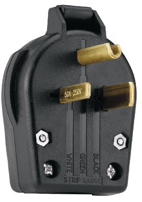 Cooper Wiring Devices S42-SP Angle Grounding Plug (1 EA)
