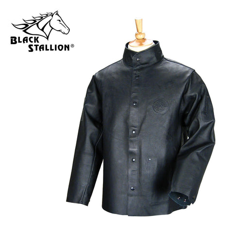 Revco 30PWC-BLK DURALITE BLACK GRAIN PIGSKIN LEATHER PREMIUM 30 INCH WELDING JACKET
