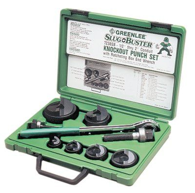 "Greenlee 7238SB Slug-Buster Hydraulic Driver Kit 1/2"" - 2"" (1 Set)"