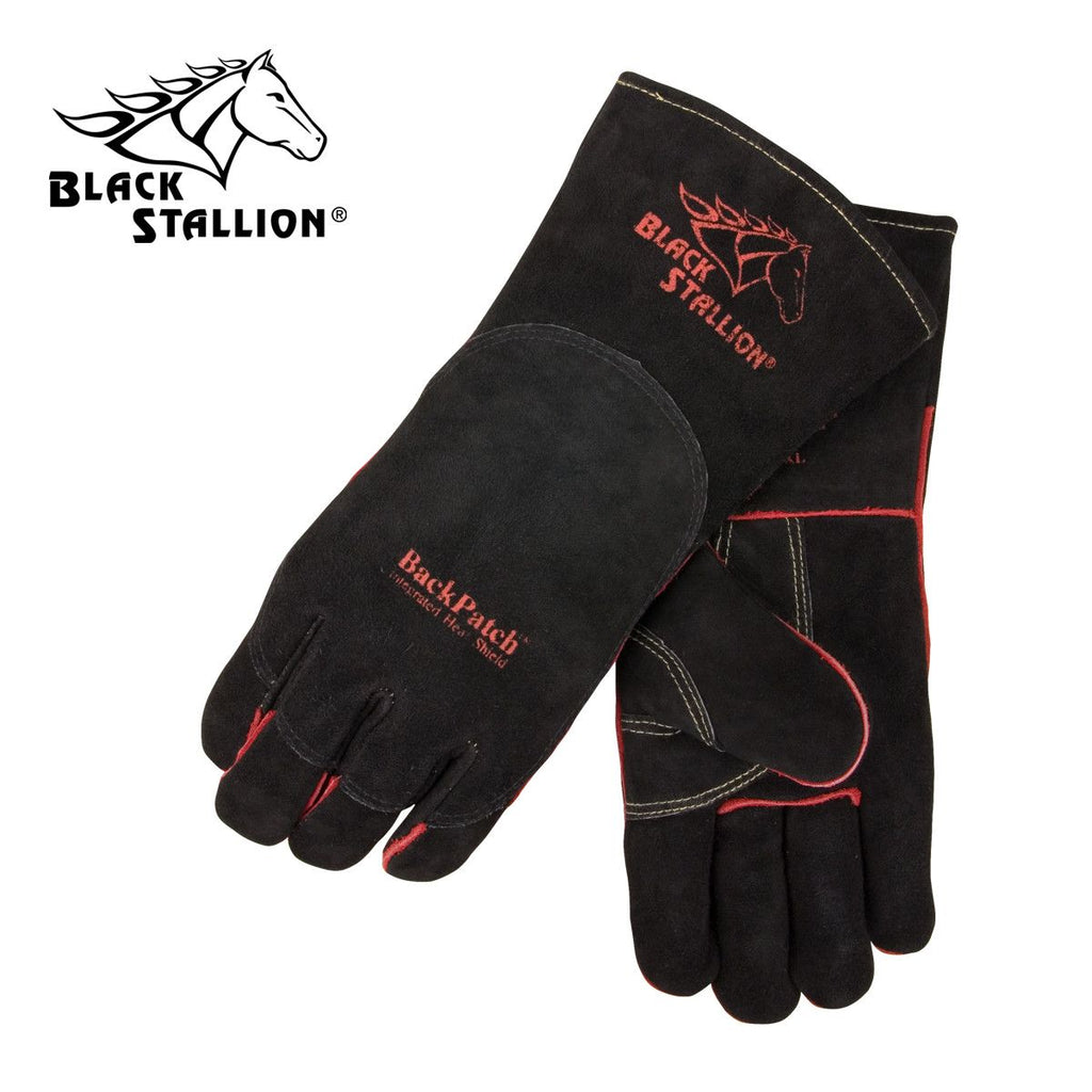 Revco 360 Black Stallion® W/ Backpatch Stick Welding Gloves (1 Pair)