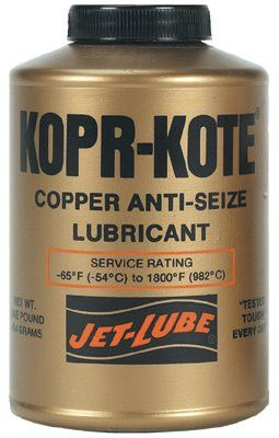 Jet-Lube 10004 High Temperature Anti-Seize & Gasket Compounds, 1 lb Can (1 Can)