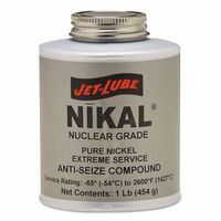 Jet-Lube 13604 Nikal High Temperature Anti-Seize & Gasket Compounds, 1 lb Can (1 Can)