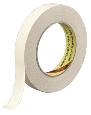 3M 10810 Scotch Vinyl Electrical Color Coding Tapes 35, 66 ft x 3/4 in, Red (1 Roll)