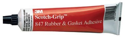 3M 021200-19718 Scotch-Grip Rubber & Gasket Adhesive, 5 oz, Tube, Reddish Brown (1 Tube)