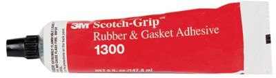 3M 021200-19868 Scotch-Grip Rubber & Gasket Adhesive, 5 oz, Tube, Yellow (1 Tube)