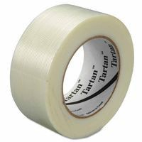 3M 021200-86521 Filament Tapes 8934, 48 mm X 60 yd, 55 mil, Clear (1 EA)