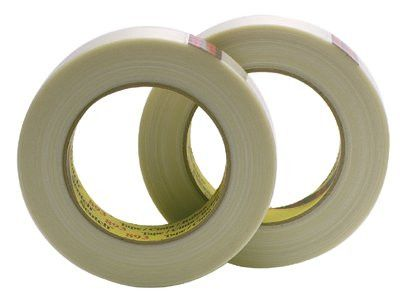 3M 051131-06939 Scotch Industrial Grade Filament Tape 893, 0.94 in x 60 yd, 300 lb/in Strength (1 Roll)