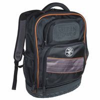 klein-tools-55456bpl-tradesman-pro-organizer-tech-backpacks,-25-compartments,-18-in-x-14-in