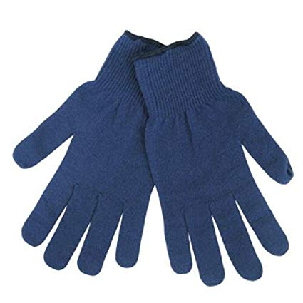 Revco 2121-BLU Blue Thin Special Knit Thermal Glove Liners (1 Pair)