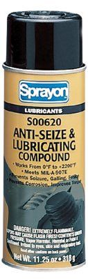 Sprayon S00620000 Anti-Seize & Lubricants, 11 1/4 oz Aerosol Can