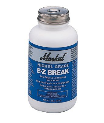 Markal 08971 E-Z Break Anti-Seize Compound, 8 oz Brush-In-Cap (1 Can)