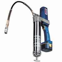 "Lincoln Industrial 1244 PowerLuber Battery Operated Grease Guns, 6,000 psi, 1/8"" NPT(F), w/case & batt"
