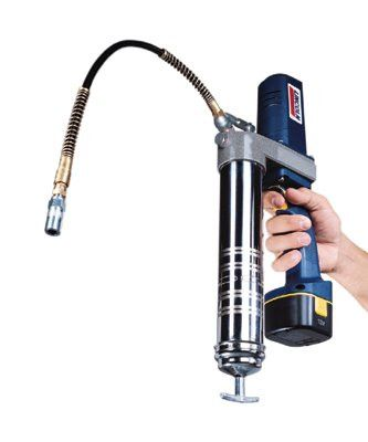 "Lincoln Industrial 1242 PowerLuber Battery Operated Grease Guns, 14.5 oz, 6,000 psi, 1/8"" NPT(F), Hose"