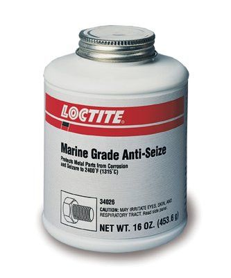 Loctite 34026 Marine Grade Anti-Seize, 16 oz Bottle (1 Bottle)
